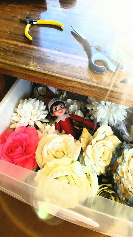 in the flower drawer